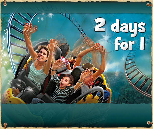 Get a 2nd Day FREE at Chessington