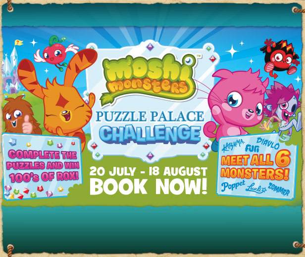 Meet Moshi Monsters at Chessington 20th July � 18th August