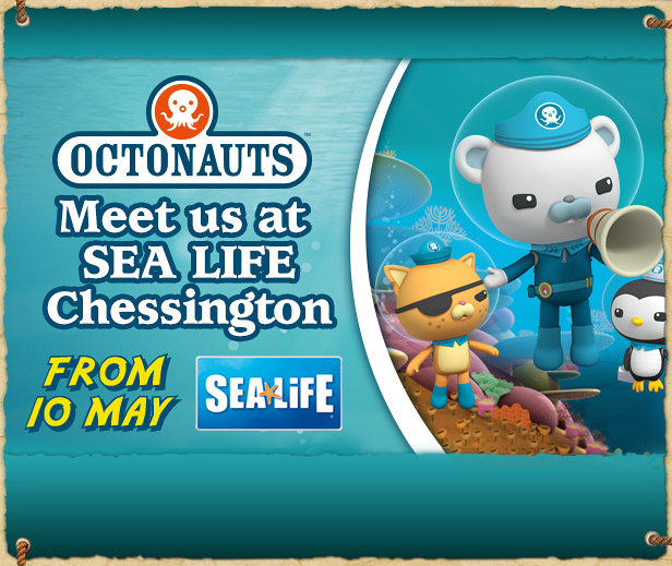 Meet the Octonauts at the SEA LIFE centre