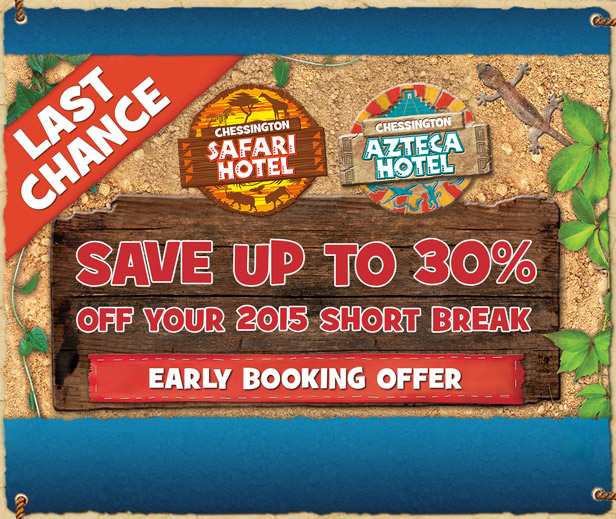 Chessington Early Booking Offer