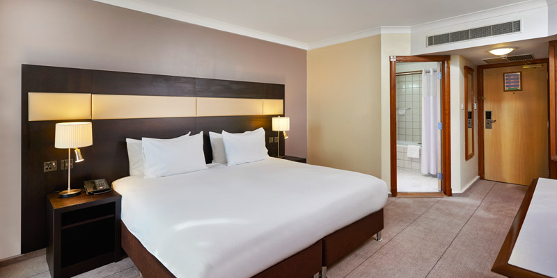hilton croydon room new