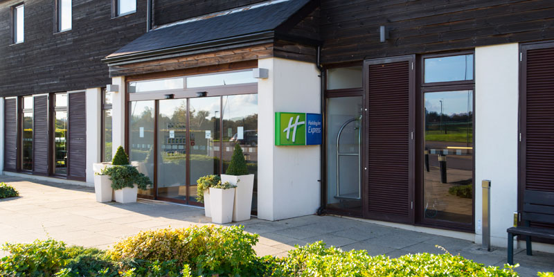 holiday inn express epsom downs exterior